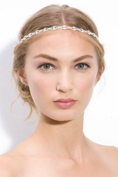Hairstyles Wedding Headband Head Bands 24 Ideas For 2019 Wedding Hair And Makeup, Wedding Beauty, Bridal Makeup, Hair Makeup, Trendy Hairstyles, Wedding Hairstyles, Bohemian Makeup, Bohemian Hair, Boho Hippie