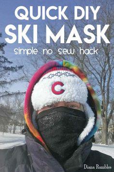 Instant DIY Ski Mask