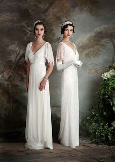 Beautiful Vintage Inspired Eliza Jane Howell Wedding Dresses | www.onefabday.com