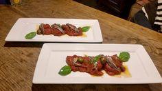 Pomodoro San Marzano in padella con capperi e acciughe  - piatti #GIFT