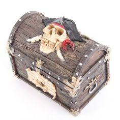 Halloween pirate chest