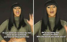 And when she told this truth about why some men pretend they want to be in a relationship with you.