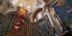 Puebla, México - capilla del Rosario