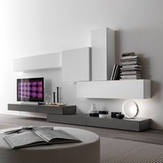 Storage systems-Side boards-Storage-Shelving-Modus-Presotto