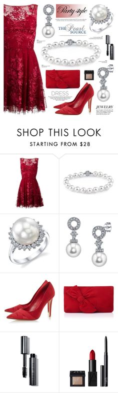 The Pearl Source 66 by anyasdesigns on Polyvore featuring Zuhair Murad, Dune, L.K.Bennett, Bobbi Brown Cosmetics, NARS Cosmetics, Tiffany & Co. and Louis Vuitton