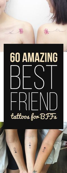60 Amazing Best Friend Tattoos for BFFs | TattooBlend