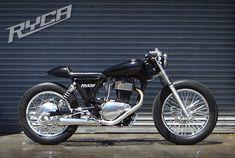 Suzuki S40 CaféRacer - Pipeburn - Purveyors of Classic Motorcycles, Cafe Racers  Custom motorbikes