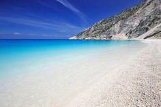 Plaja Myrtos din Kefalonia, Greece