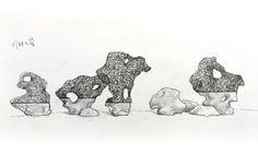 CHEN ZHAO, 2014, drawing