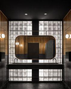 Fulton Market, Pop Up Bar, Vanity Design, Black Tiles, Restaurant Interior Design, Hospitality Design, Architecture Photo, Open Floor, Design Awards