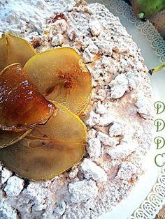 Torta ricotta e pere..meravigliosa!   Dolci Delizie di Casa Sweets Recipes, Wine Recipes, Snack Recipes, Snacks, Torta Zebra, Ricotta Dessert, Antipasto, Biscotti, Sweet Potato