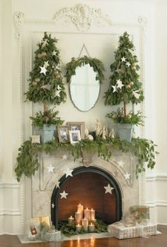 Merry Mantels, Adore Your Place - Interior Design Blog