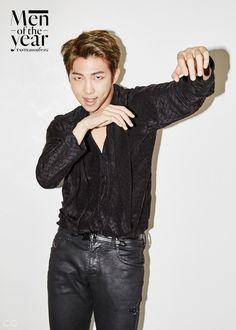 Rap Monster (BTS) - GQ Magazine December Issue '16