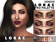 Sims 4 CC's - The Best: Eye Shadow by KenzarSims