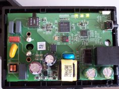 Ein offener linksys Powerline Adapter