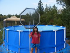 Sta-Right Above Ground Pool Skimmer   Homemade Pool Skimmer for Intex Above Ground Pool