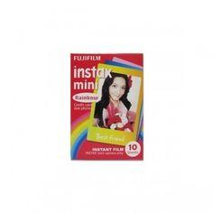 Fujifilm Instax Mini Film Color Rainbow for Instax Mini Camera 10pcs for 1 pack