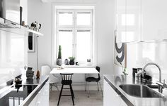fantastic frank, swedish apartment, home interiors, oracle fox, Sunday Sanctuary, monochrome, Scandinavian, Home tour