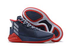 8a0f6d24885 adidas D Rose 9 Navy Blue Red-White For Sale Derrick Rose