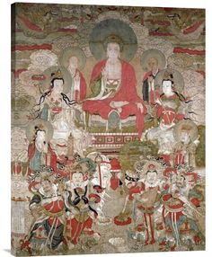 http://www.explosionluck.com/collections/showcase/products/buy-feng-shui-wall-art-painting-buddhas