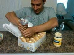 Mayonnaise prank - Labsmash