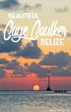Exploring the beautiful island of Caye Caulker, Belize | Alex in Wanderland