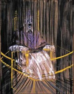Study after Velazquez's Portrait of Innocent X by Francis Bacon