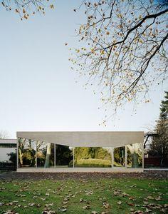 Fried Pavillion / Amunt Architekten Martenson und Nagel Theissen