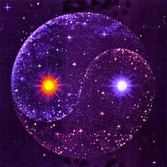 Purple yin-yang, my favorite color! Arte Yin Yang, Yin Yang Art, Purple Love, All Things Purple, Foto Logo, Tomorrow Is A New Day, Les Chakras, Sacred Geometry, Feng Shui