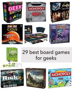 The 29 Best Board Games for Geeks - Our Nerd Home