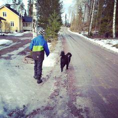 Ihmeellistä! Sain seuraa päivälenkille  Salaisuus: uusi kännykkä ja Pokemon Go  On a walk with my boys  #metsässä #intheforest #onawalk #maaliskuu #march #igfinland #igscandinavia #thisisfinland #visitfinland #visitscandinavia #guys #guy #boy #boys #love #cute #heart #picoftheday #photooftheday  #instagood #fun #smile #dude  #swag Canada Goose Jackets, 18th, Pokemon, Swag, Guy, Winter Jackets, Instagram Posts, Life, Winter Coats