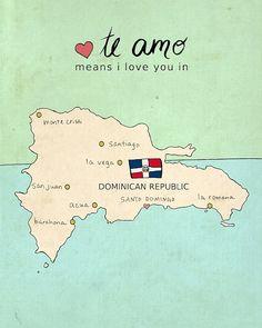 Amo republica dominicana