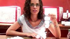 Tutorial do Garota Prendada em que ensino a fazer luminária de flores de papel com luzes de natal