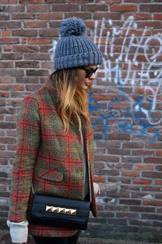plaid and bag #autumn #shoppingpicks