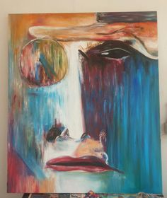 100 / 120 cm T.b oil on painting Draw, Oil, Portrait, Painting Art, To Draw, Men Portrait, Drawings, Paintings, Tekenen