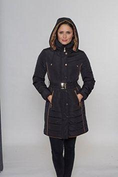 David Barry - Bear Belted Fur Hood Padded Coat £99.99