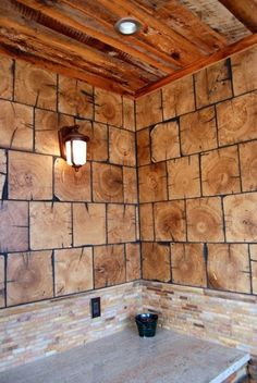 Barnwood Bricks ®, God's Country, Tennessee, Reclaimed Lumber, Reclaimed Fl… … - New Design Wood Like Tile, Tile Wood, Tennessee, Reclaimed Lumber, Kitchen Flooring, Kitchen Backsplash, End Grain Flooring, Backsplash Ideas, Tile Ideas