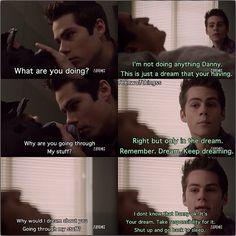 Dylan O'Brien, Teen Wolf Season 3 Stiles Stilinski