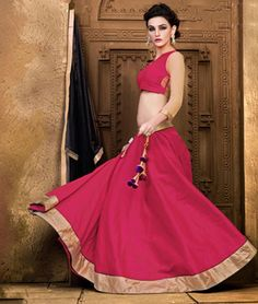 Get 10% Extra Discount On Designer #LehengaCholi in bright shades and beautiful colors. Buy Now: http://www.shoppers99.com