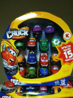 Tonka Chuck & Friends Fold N Go 15 Vehicle Set by Hasbro. $36.98. by Hasbro