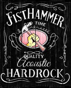 Kolla in Fist Hammer! Quality Acoustic Hardrock