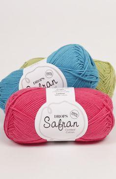 Пряжа Safran - египетсктй тонкий хлопок для летней одежды. 320 м / 100 гр.