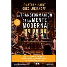 La transformación de la mente moderna /Jonathan Haidt Ediciones Deusto, 2019 Apocalypse, Never, It Hurts, Movie Posters, Ideas, Products, Science Books, Literature, Spanish Modern