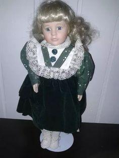 antiga boneca parisiense em porcelana - promoção!!!