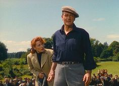 """A scene from """"The Quiet Man"""" with John Wayne and Maureen O'Hara, released in 1952. (Republic Pictures historic image)"""