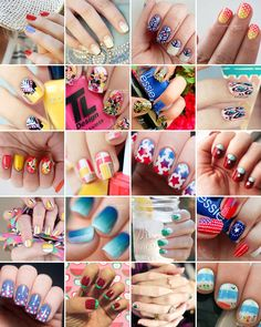 Nails To DIY For: 20 Nail Art Tutorials For Summer - (brit)