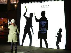 사람들의 참여(개입)을 통해 완성되는 아동학대 방지 OOH 캠페인