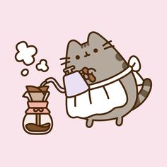 Quiz: What Kind of Catfe Drink Are You? Chat Kawaii, Kawaii Cat, Pusheen Stickers, Cute Stickers, Kawaii Wallpaper, Wallpaper Iphone Cute, Pusheen Love, Halloween Doodle, Nyan Cat