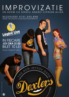 Dexters - Event Poster
