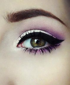 pretty purple shadow